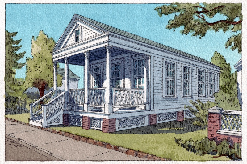 Katrina Cottage Viii Fairfax Mouzon Design